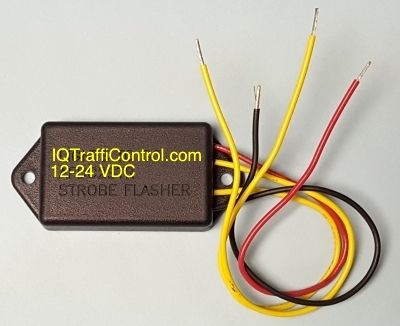 2 Channel, DC, Strobe flasher 12-24VDC