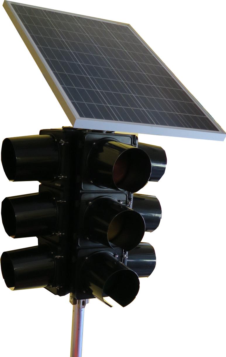 Solar Portable Traffic Signal 4 ways