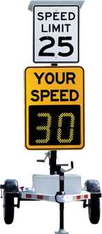 Solar Speed Alert Trailer