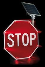 Blinker Stop Flashing LED STOP Sign