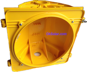 Traffic Signal Housing 8 inch Yellow