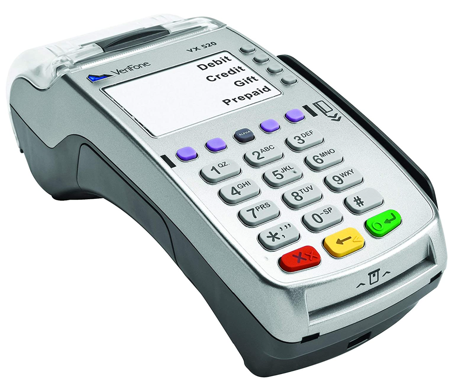 Atavoli.com Verifone Vx520 EMV/Contactless : Verifone Vx520 EMV/Contactless. Restaurant & Bar POS Integrated NFC/CTLS capabilities support alternative payments, as well as apps for loyalty programs and gift cards. EMV chip. EMV enabled. NFC-contactless