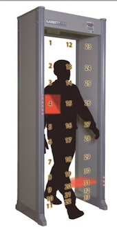 Walk Through Metal Detector, 33 Zone