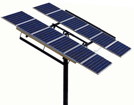 Passive Solar Tracker For Photovoltaic Modules