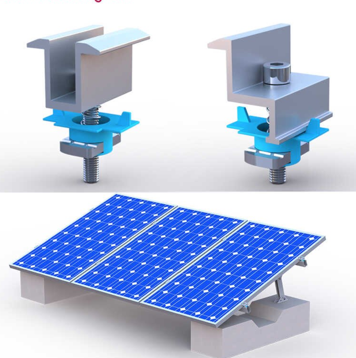 Solar Modules Mounting Structures