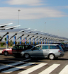 Solar Powered Parking Lots 11KW 120VAC