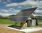 Solar power supply 4.2KW AC Daily output 115VAC