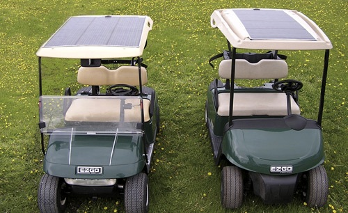 Golf Carts Batteries Solar Powered