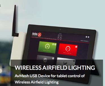 Wireless Airfield Lighting Control