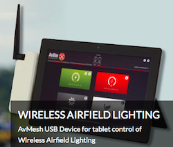 Wireless Airfield Lighting Control