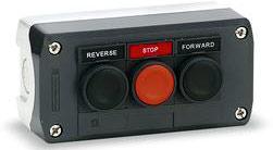 Stop! Push Button Rugged Hazard environment