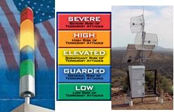 Threat Level Status Indicator Homeland Security