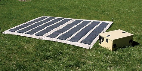 Military Solar Power Foldable 190w