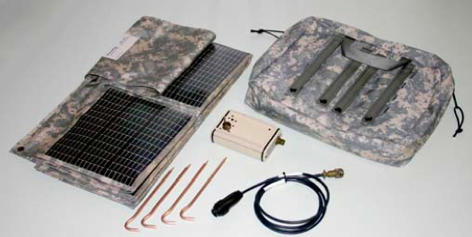 MD57 Solar Battery Charger Kit