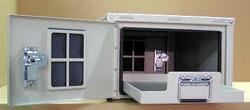 Outdoor Battery Compartment 16″ High x 25″Deep