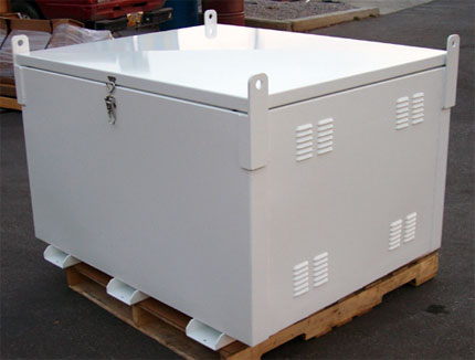 Aluminum Burial Battery boxes