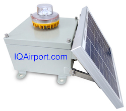 L864  Solar Medium Intensity LED Obstruction Light
