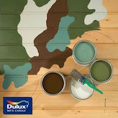 Military Camouflage Removable Paint