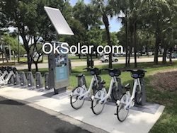 Solar Powered Electric Bike