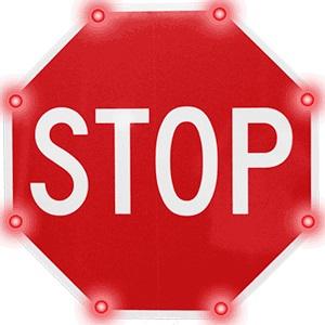 Blinker Stop Flashing LED STOP Sign | Solar Blinker Stop | BlinkerStop Flashing LED STOP Sign | Blinker stop flashing led stop sign | Pedestrian Crossing System