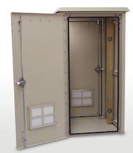 Outdoor Enclosure 50H x 25W x 25D