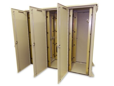 Outdoor Enclosure Triple Bay 78H X 88W X 42D