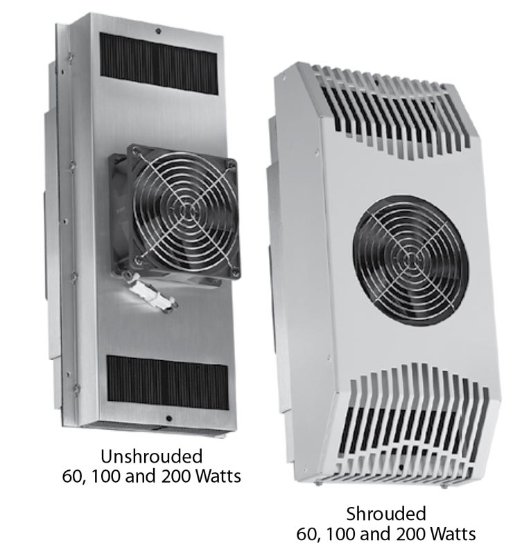 Thermal electric cooling enclosure