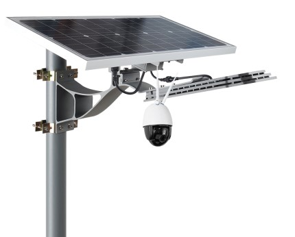 Solar Golf Course Light with IP Camera