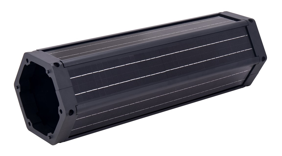 Cylindrical Solar Panels 100 Watts