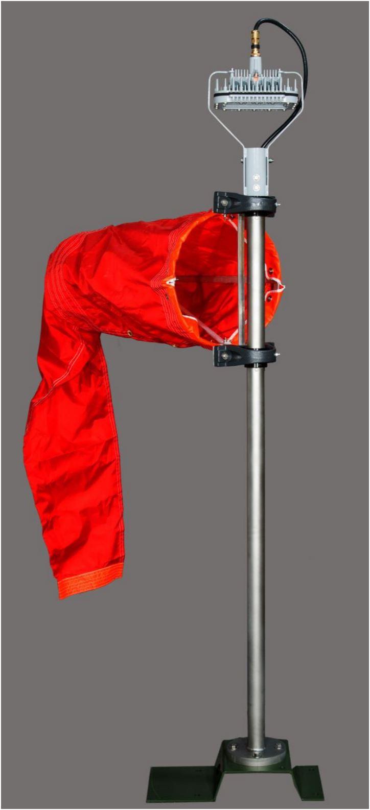 Solar Portable Wind Cone