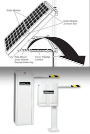 Solar gate Operator tower