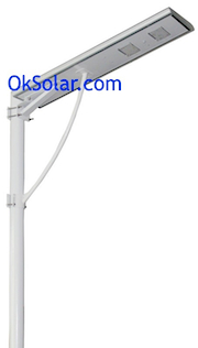 Military Base Solar Parking Lot Light Self Contain