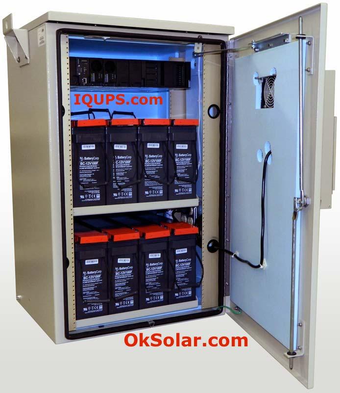 Solar Energy Storage 34k Whr