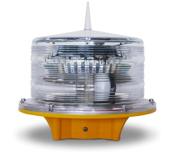 Solar Tower Obstruction Light