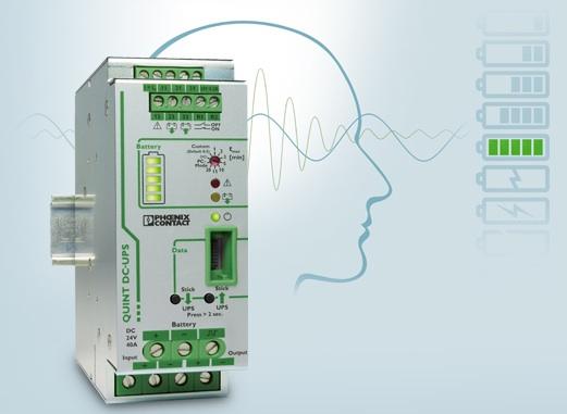 Uninterruptible power supply units - The intelligent QUINT UPS-IQ