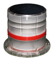 Solar Crane Obstruction Light