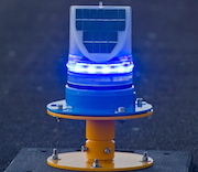 Solar Taxiway Lights