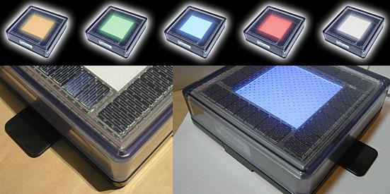 Solar Bricks Solar Powered Hazard Lights