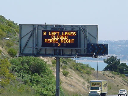 Heavy Traffic Signs Amber Alert Dot Department Of