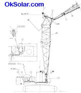 Crane Obstruction Warning Light