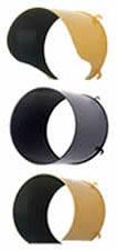Visor 8 inch Black